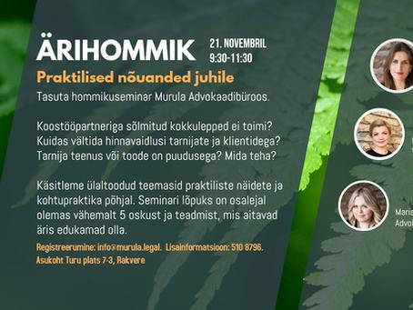 ÄRIHOMMIK     21 nov