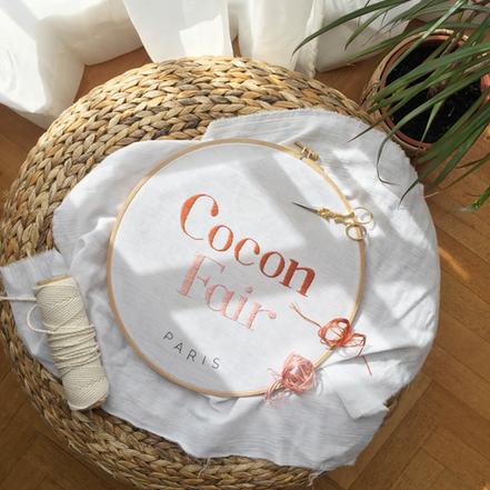 Cocon fair #broderielogo