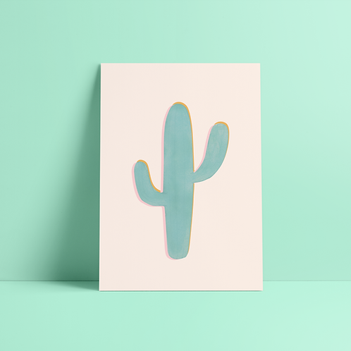 Illustration Cactus Joshua Tree