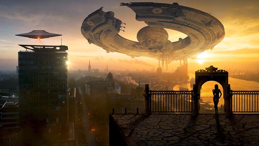 외계인 우주선