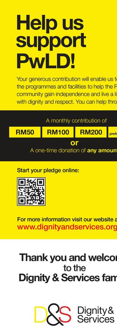 Help us support PwLD!