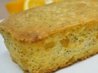Lemon Butter Cake with Blue Poppy Seeds