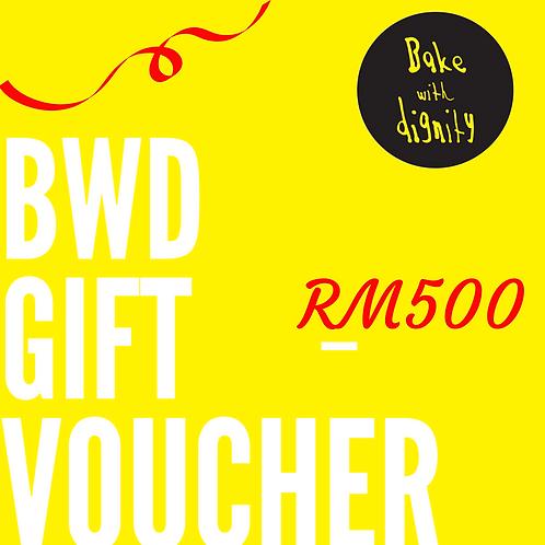 BWD Gift Voucher - RM500