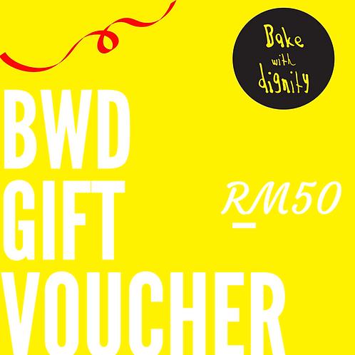 BWD Gift Voucher - RM50