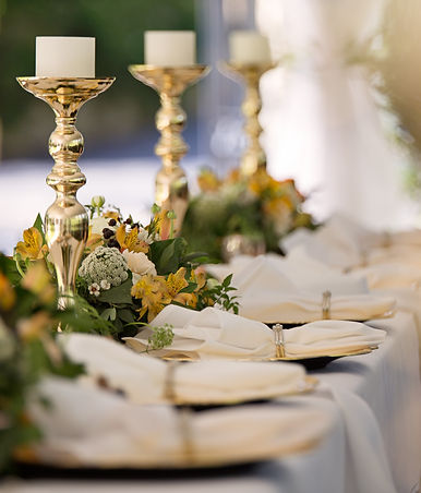 Sparkles & Bubbles - Wedding Table Decor