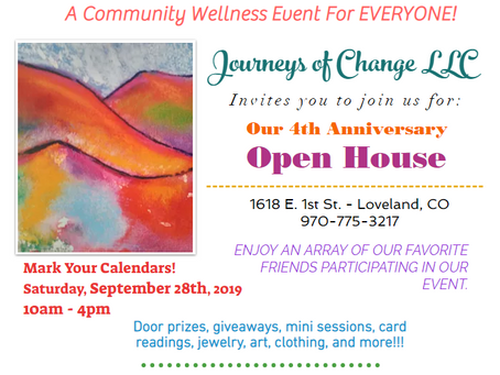 OPEN HOUSE! Please Join Us.