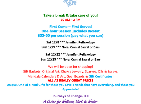 Winter Wonderland WALK-IN SPECIALS