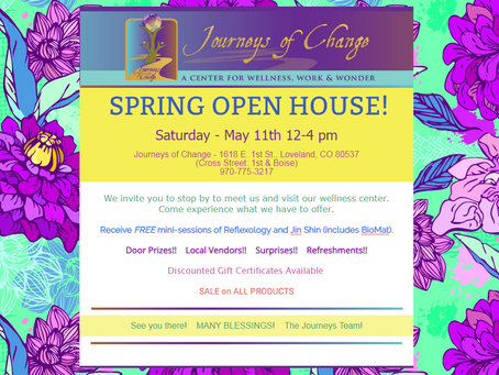 SPRING OPEN HOUSE EVENT