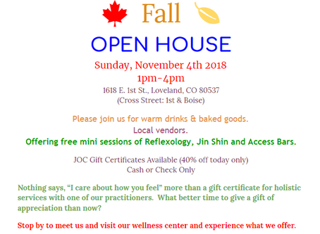 Open House Fall Event