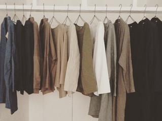 心地いい服、秋と冬。
