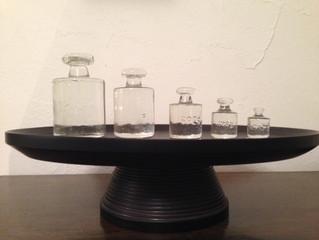 ガラスの分銅