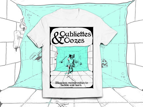Oubliettes & Oozes shortsleeve