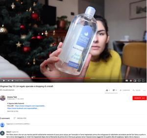 Nel suo VlogMass Arianna presenta l'unboxing dei nostri prodotti , con una piccola sorpresa