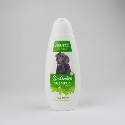 Shampoo per cani pelo corto profumo mela