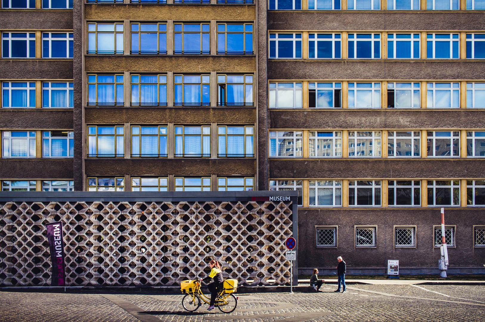 Stasi-land HQ. Berlin.