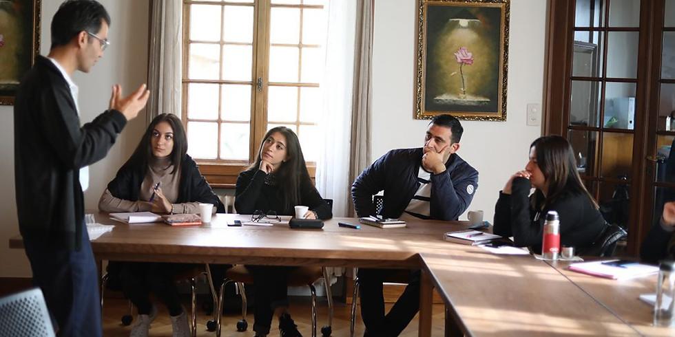 Séminaire - Ma carrière en tant qu'Ambassadeur par l'Ambassadeur de la République Argentine