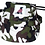 Front view of camouflage cap