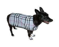 Plaid Reversible Jacket for Dogs