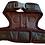 Inside view of khaki vest harness