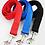 View of nylon leashes