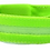 View of green nylon flashing collars
