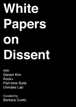 White Papers on Dissent