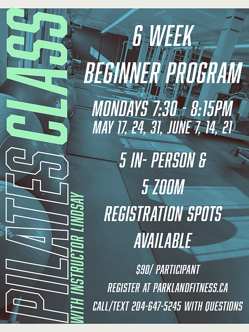 Pilates 6 Week Program