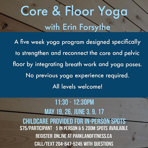 Core & Floor Yoga