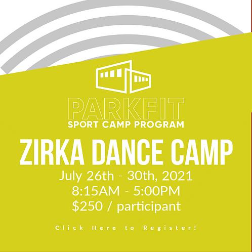 Zirka Dance Camp - July 26th - 30th