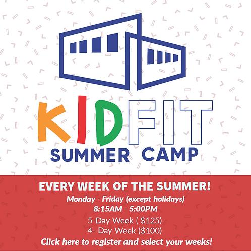 KidFIT Summer Camp Registration