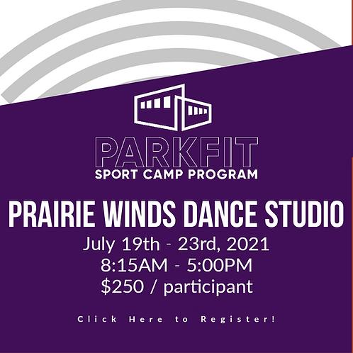 Prairie Winds Dance Studio Camp - July 19th -23rd