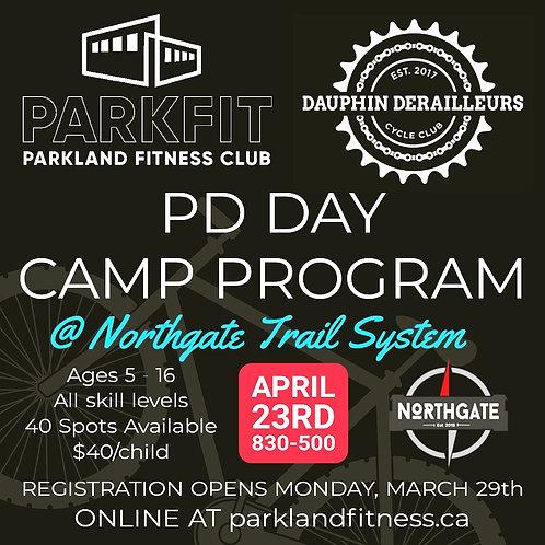 ParkFIT / Derailleurs PD DAY Camp - April 23rd