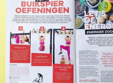 Met je stoma buikspieren doen in KVV magazine