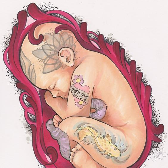 Rebel Birth Childbirth August Series (3 of 4)