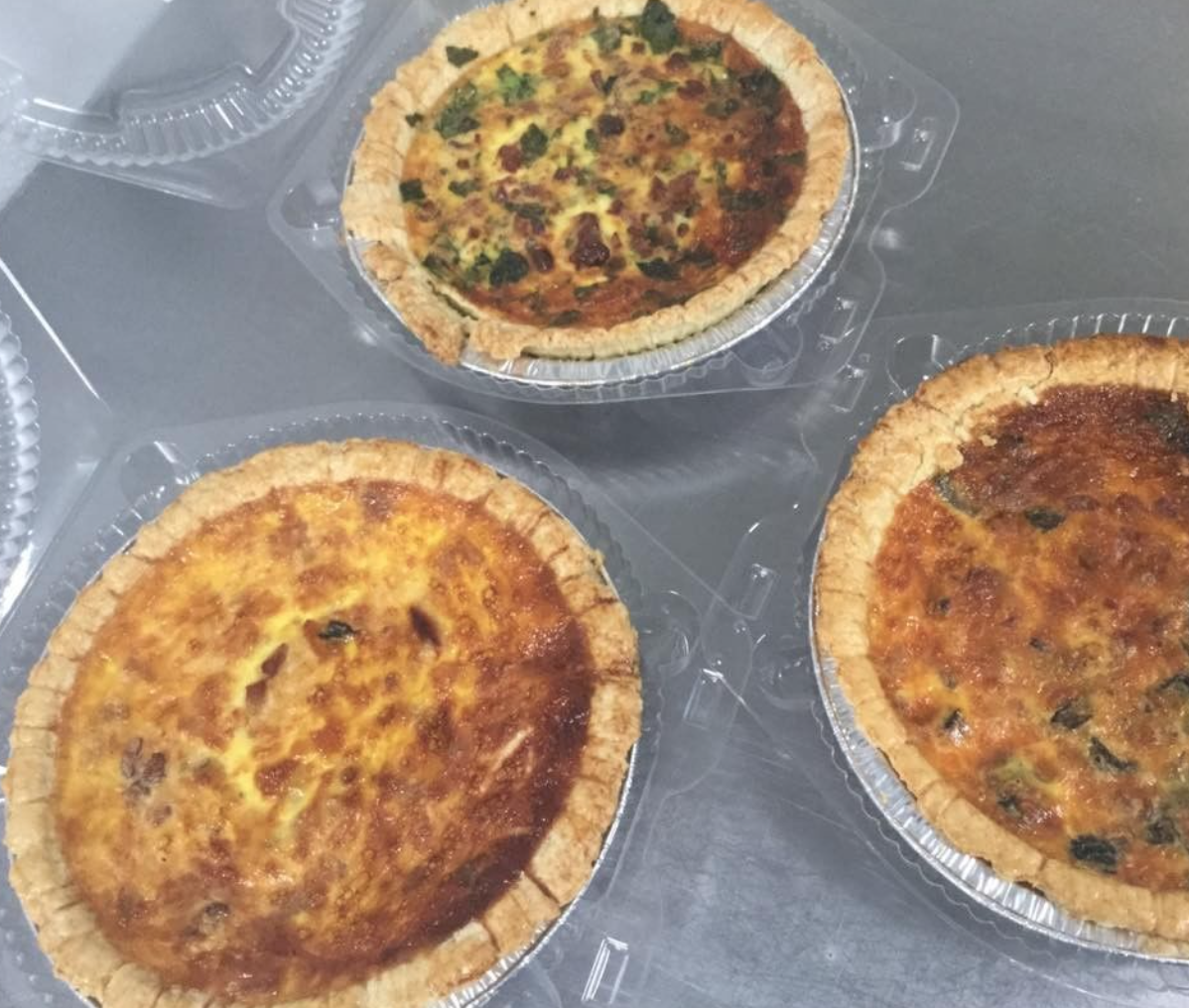 quiche, quiche, and more quiche!