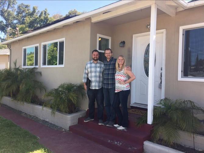 New homeowner spotlight: Luke + Kari