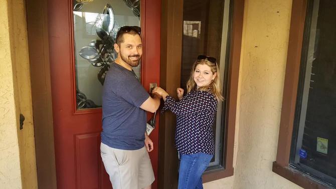 New homeowner spotlight: Kasey + Katie