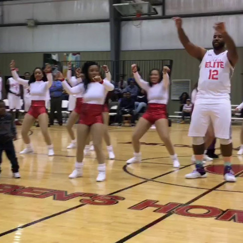 TJ Granger Shows Off During Halftime