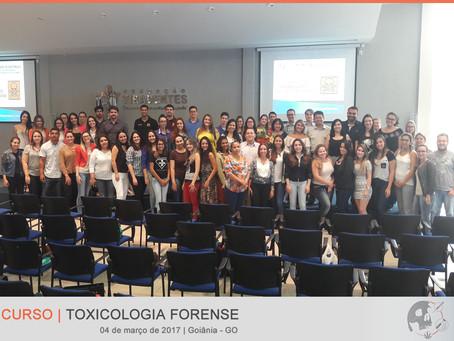 "SBTOX realiza curso ""Toxicologia Forense"" em Goiânia"