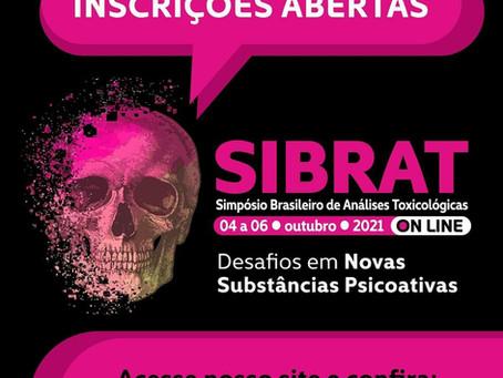 Inscrições abertas para o Simpósio Brasileiro de Análises Toxicológicas (SIBRAT)