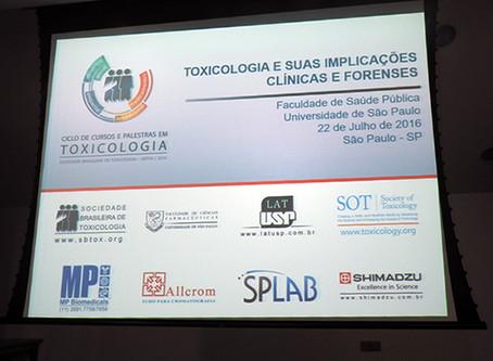 """SBTOX realiza curso """"Toxicologia e suas implicações clínicas e forenses"""""""
