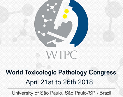 World Toxicologic Pathology Congress | 21 - 26 April | São Paulo - SP