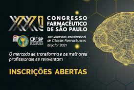 XXI CONGRESSO FARMACÊUTICO DE SÃO PAULO.