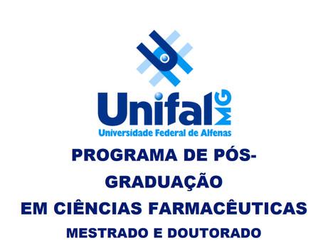 EDITAL 018/2017 - Seleção para Programa de Pós-graduação em Ciências Farmacêuticas - UNIFAL