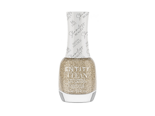 Entity Clean - Breathable Nail Lacquer TRUTH BE GOLD( 15 ml ).
