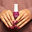 Entity Clean - Breathable Nail Lacquer MARCH ON MY OWN PLUM( 15 ml ).