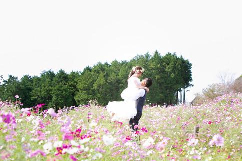 白木峰高原 グラバー園 夕焼け 長崎 福岡 結婚写真 結婚撮影 出張撮影 前撮りロケーションフォト ブライダルカメラマン 森永健一