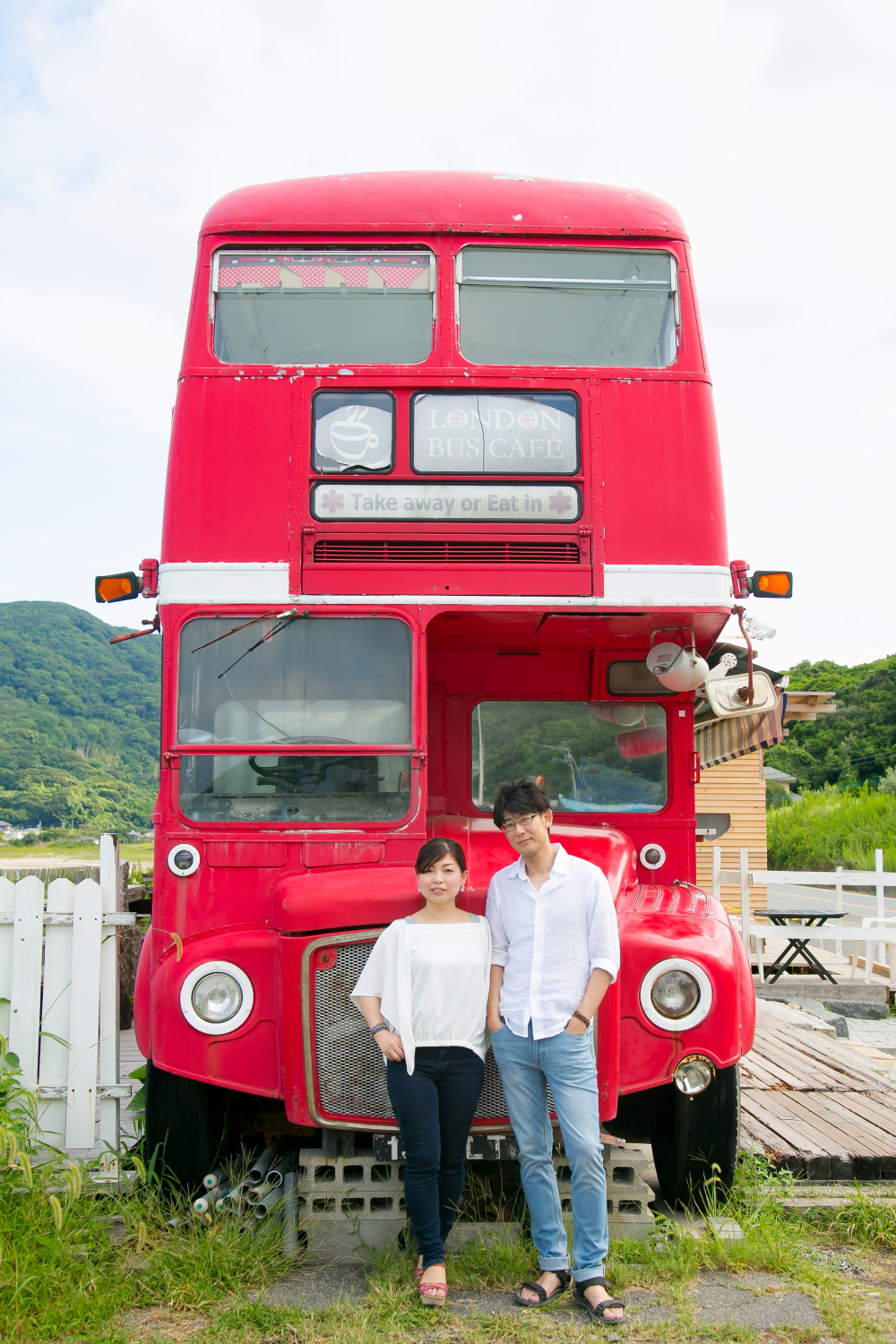 Pre-wedding photo session in Japan
