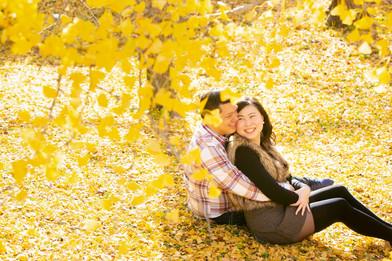 舞鶴公園 紅葉 福岡 結婚写真 結婚撮影 出張撮影 前撮りロケーションフォト ブライダルカメラマン 森永健一