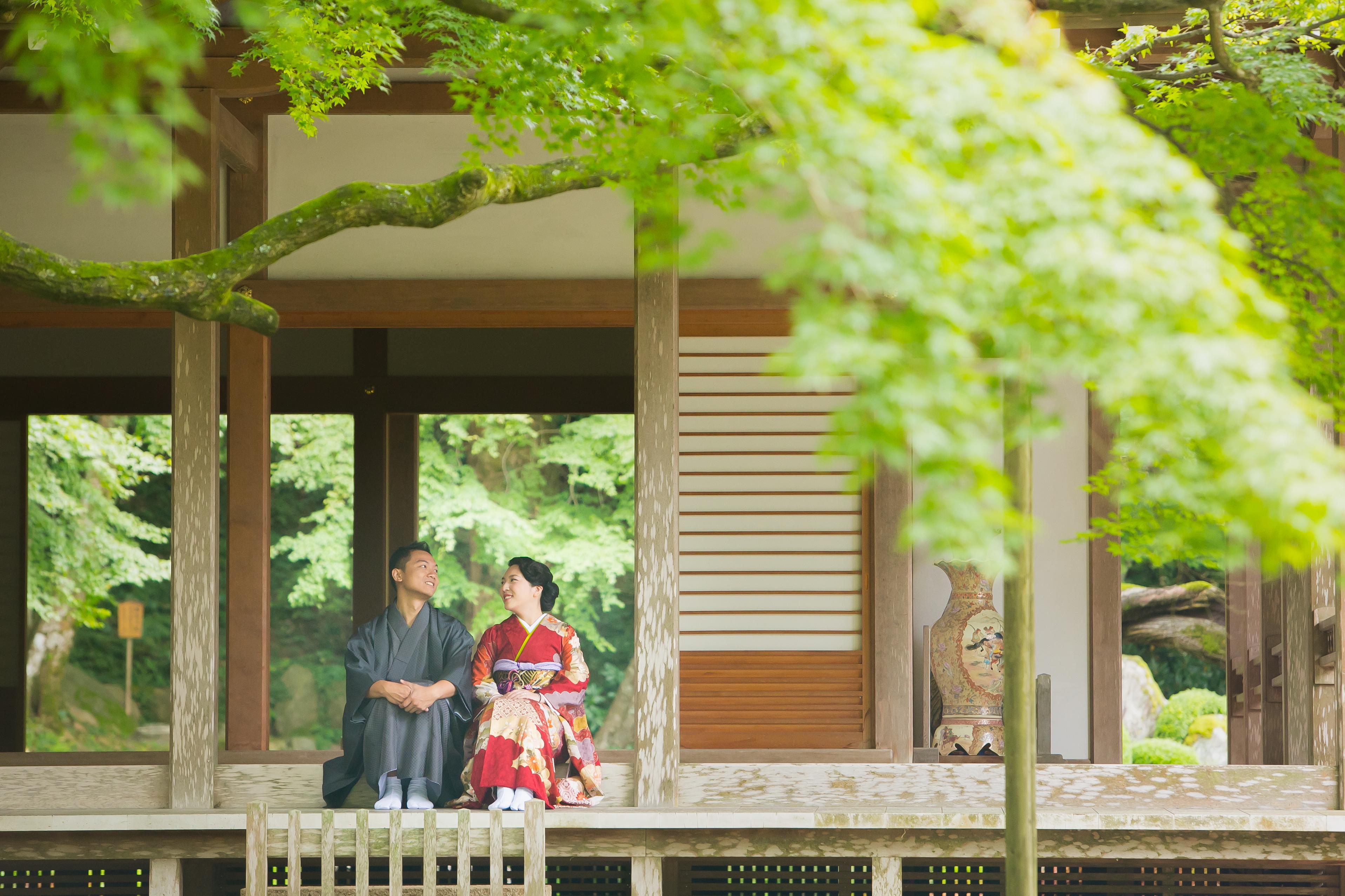 Raizan sennyo ji Temple in Fukuoka